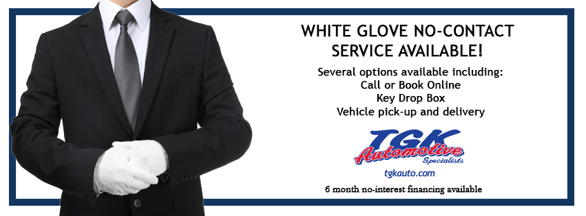 white glove no-contact service available!