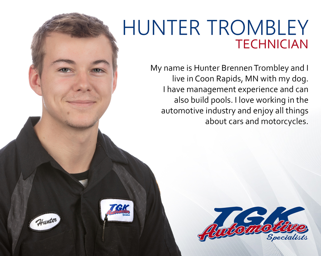 HUNTER TROMBLEY, TECHNICIAN