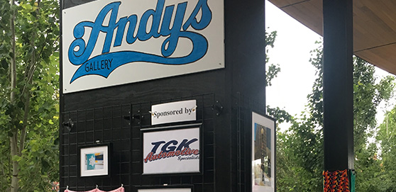tgk in the community at andys