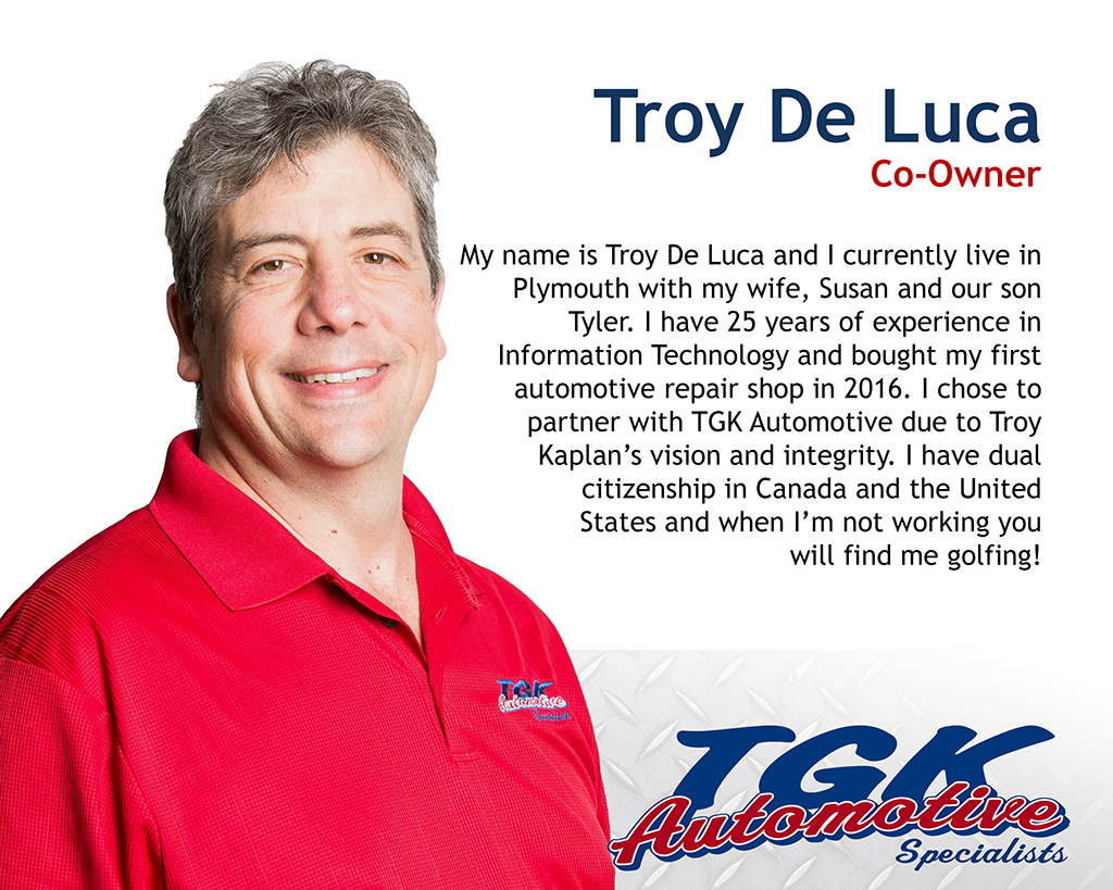 Troy De Luca, Co-owner