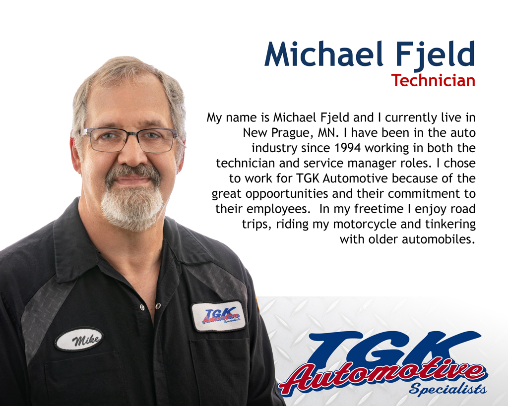 MICHAEL FJELD, TECHNICIAN