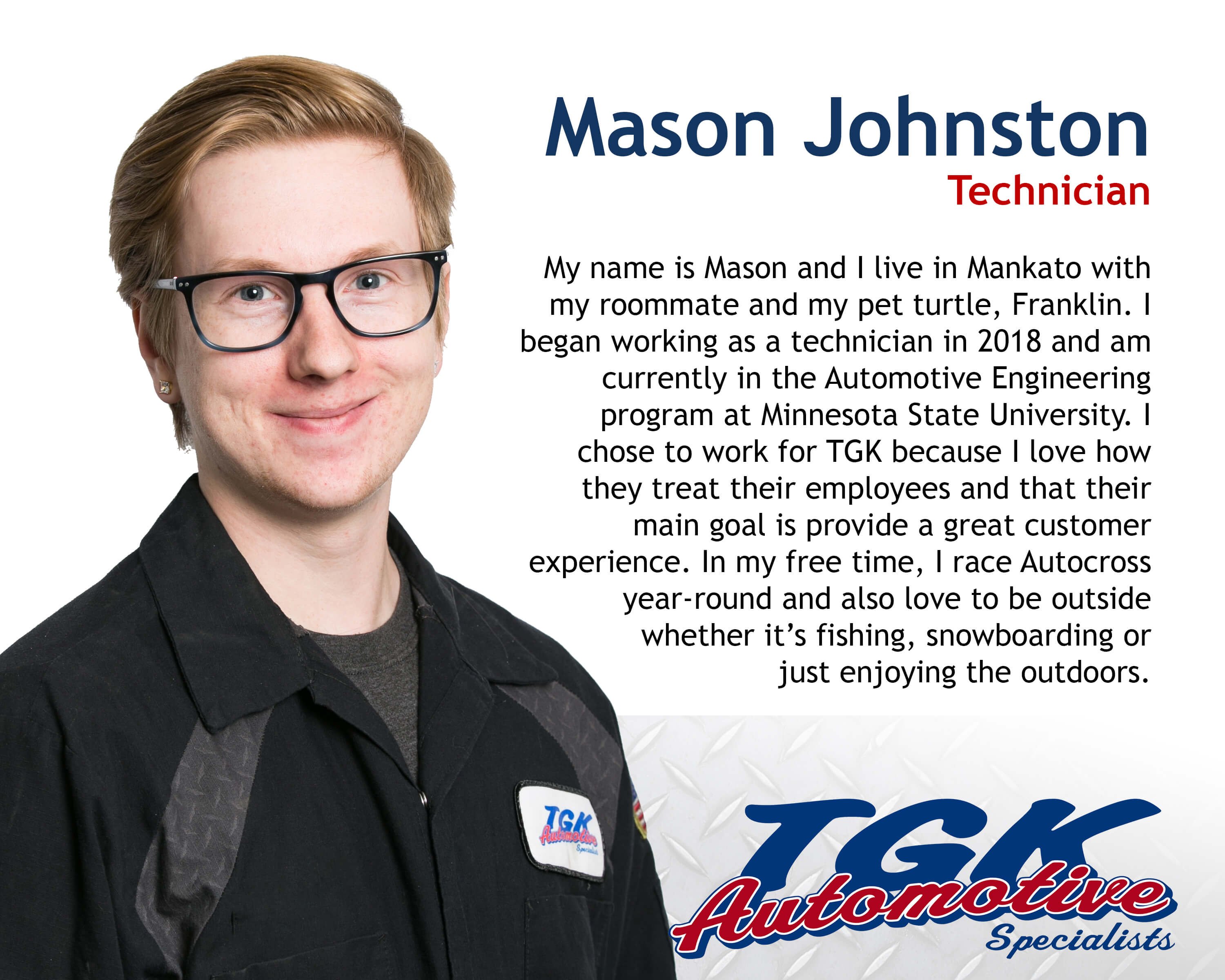 Mason Johnston BIO