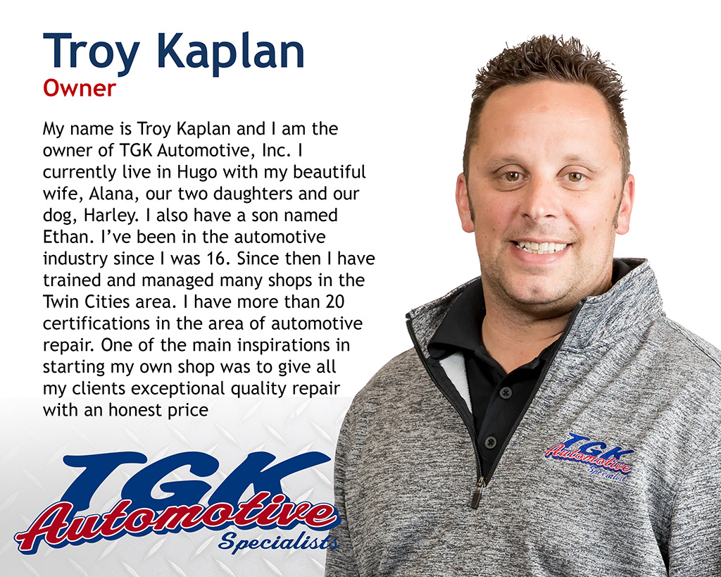 TROY KAPLAN, OWNER