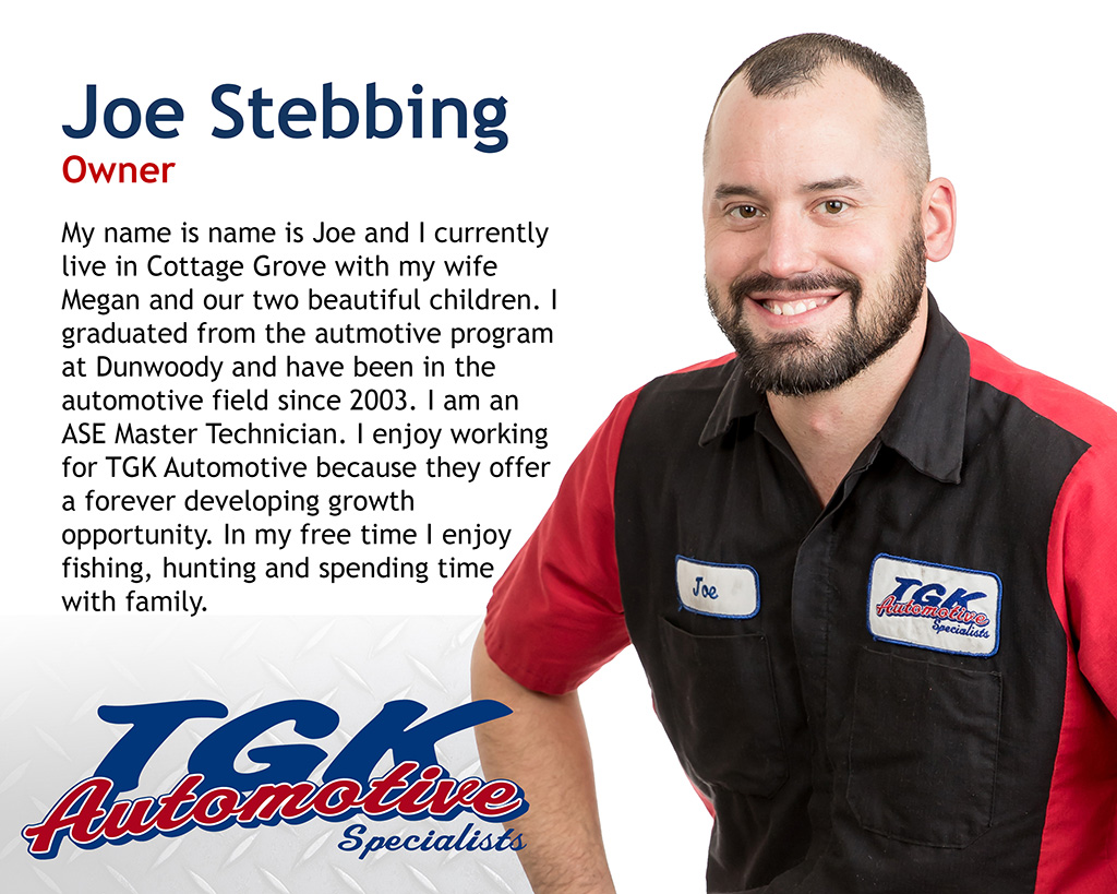 JOE STEBBING, OWNER