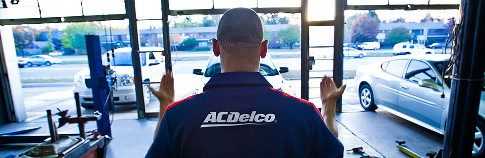 About Us ACDelco Auto Parts Auto Repair History 980x320